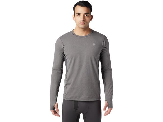Mountain Hardwear Ghee Langarm Crew Shirt Herren heather shark